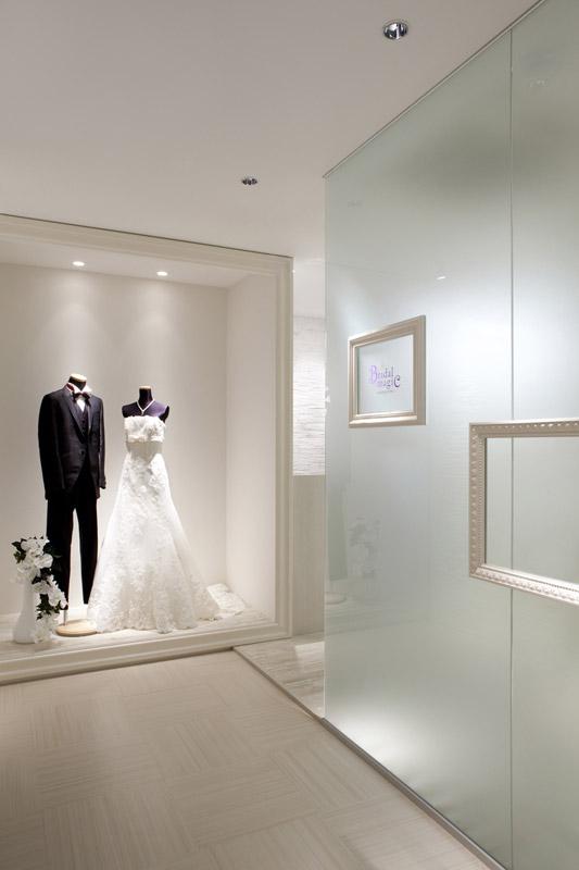Bridal Magic,ドレスショップ,兵庫県,設計デザイン,PROCESS5 DESIGN