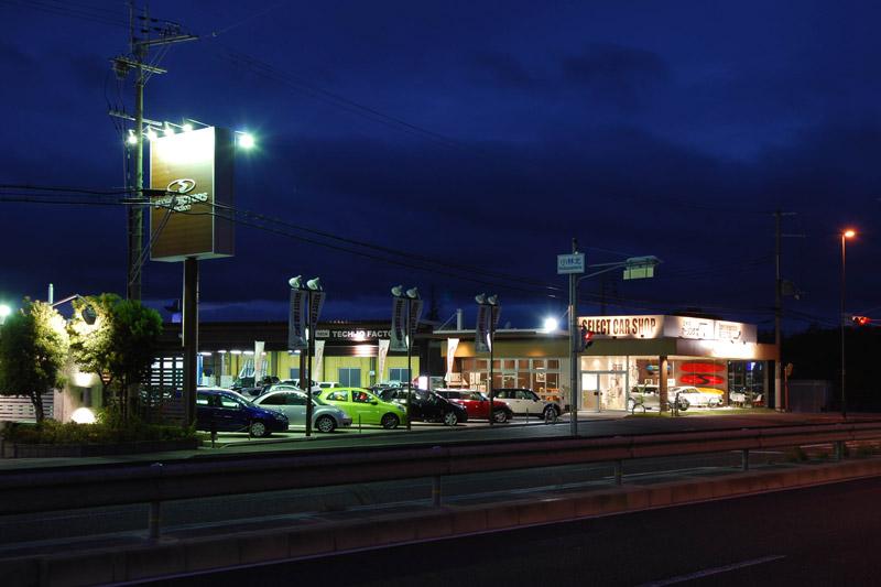STEP MOTORS selection,中古輸入車ショップ,2011,兵庫県,設計デザイン,PROCESS5 DESIGN