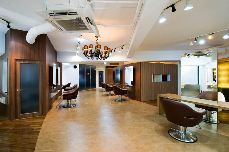 Central a.c.f 元町店,美容室,2012,兵庫県,設計デザイン,PROCESS5 DESIGN