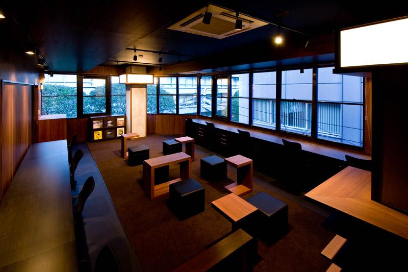 share YODOYABASHI deck,シェアオフィス,2012,大阪府,設計デザイン,PROCESS5 DESIGN