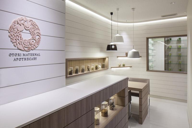 OTORI MATERNAL APOTHECARY,漢方薬局,2013,東京都,設計デザイン,PROCESS5 DESIGN