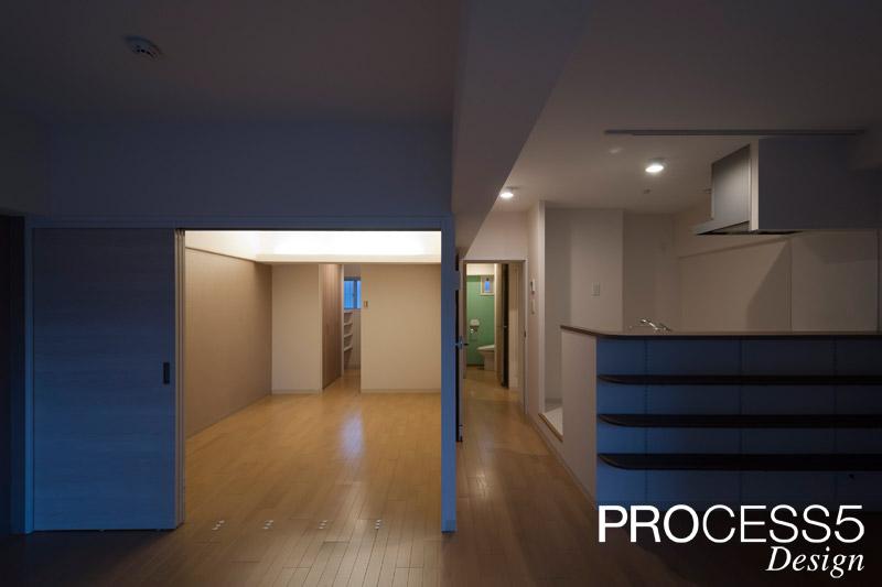 LE POIRE FURUKABASHI,マンションフルリノベーション,2014,大阪府,設計デザイン,PROCESS5 DESIGN