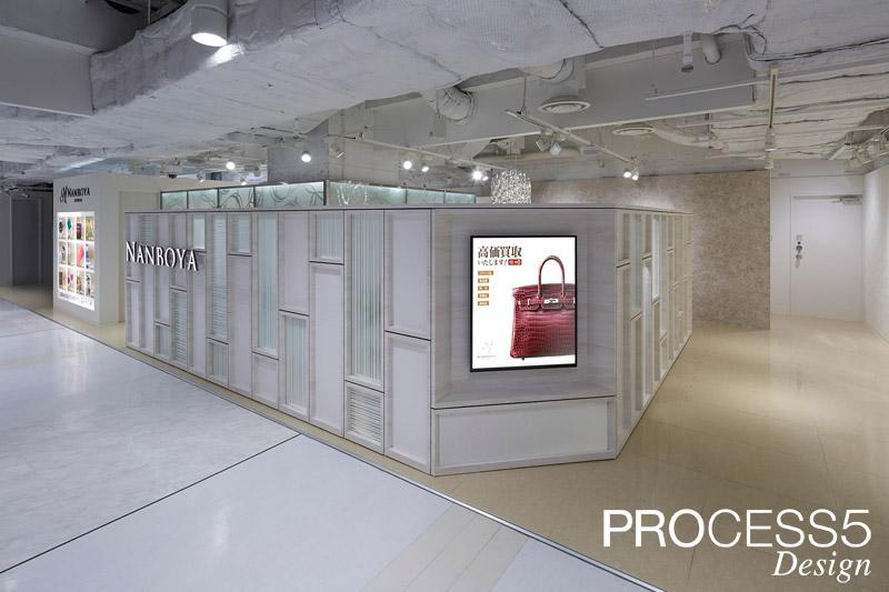 NANBOYA 梅田店,買取サービス店,2014,大阪府,設計デザイン,PROCESS5 DESIGN