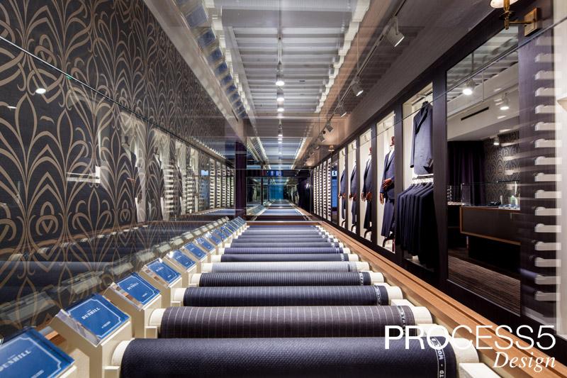 銀座 SAKAEYA,フルオーダースーツショップ,2014,東京都,設計デザイン,PROCESS5 DESIGN