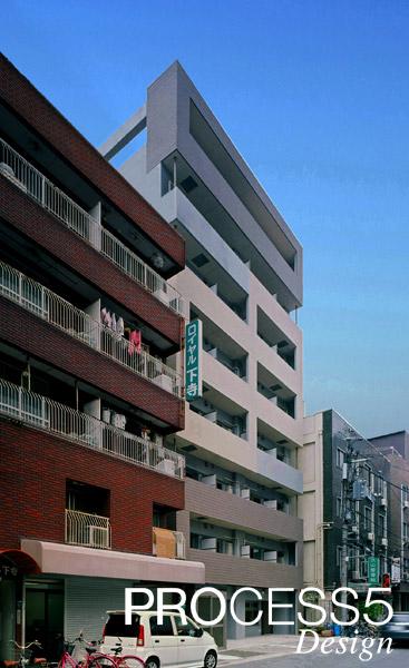 日本橋のマンション,賃貸マンション,2014,大阪府,設計デザイン,PROCESS5 DESIGN
