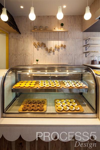 Uchiya Bake Shop 放出店,焼き菓子屋,2014,大阪府,設計デザイン,PROCESS5 DESIGN