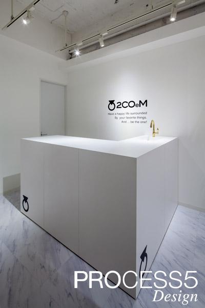2COeM,セレクトショップ,2014,大阪府,設計デザイン,PROCESS5 DESIGN