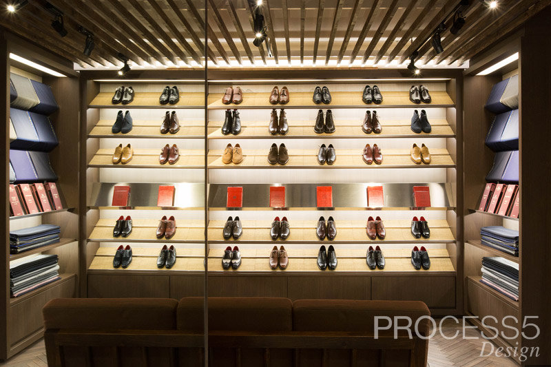 sarto Arima,フルオーダースーツショップ,2015,香川県,設計デザイン,PROCESS5 DESIGN
