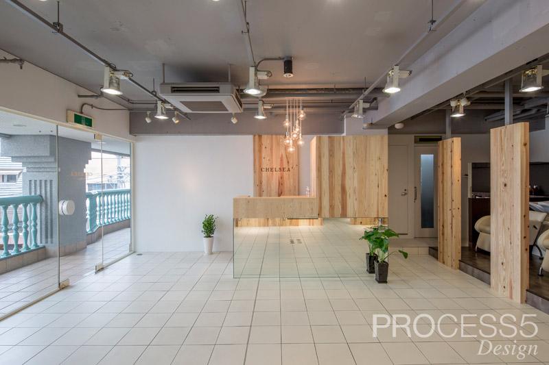 CHELSEA,美容室,2015,兵庫県,設計デザイン,PROCESS5 DESIGN