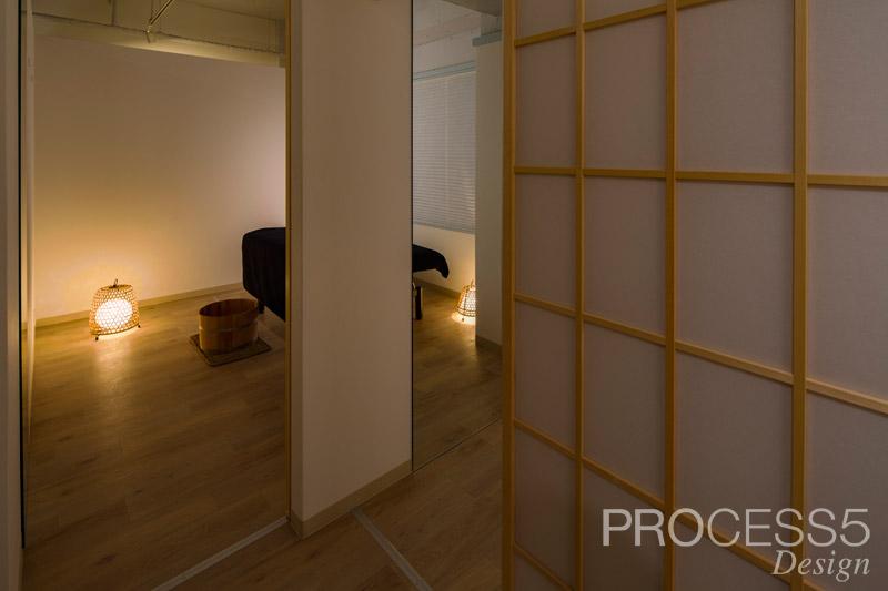 nakaniwa,リラクゼーションサロン,2016,大阪府,設計デザイン,PROCESS5 DESIGN