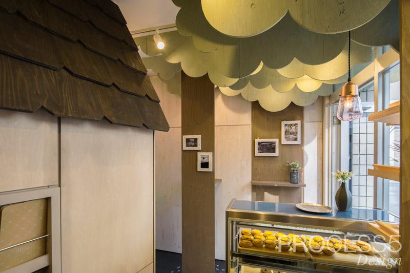 Uchiya Bake Shop 中之島南ボワメゾン,焼き菓子屋,2016,大阪府,設計デザイン,PROCESS5 DESIGN