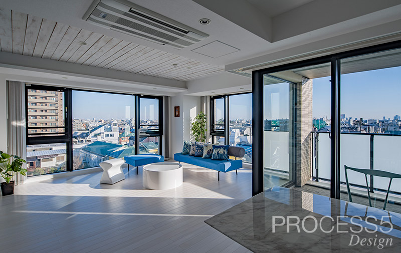 TH Residence,マンションリノベーション,2017,東京都,設計デザイン,PROCESS5 DESIGN
