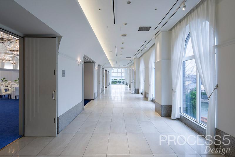 長崎インターナショナルホテル L′acqua(ラクア),結婚式場,2018,長崎県,設計デザイン,PROCESS5 DESIGN
