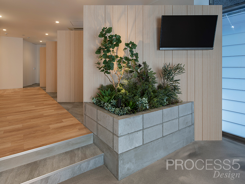 うつぼ Garden Clinic,クリニック,大阪府,設計デザイン,PROCESS5 DESIGN