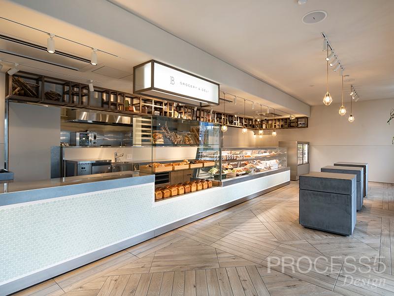 THE BAKE STORE,飲食店,物販,パン屋,大阪府,設計デザイン,PROCESS5 DESIGN