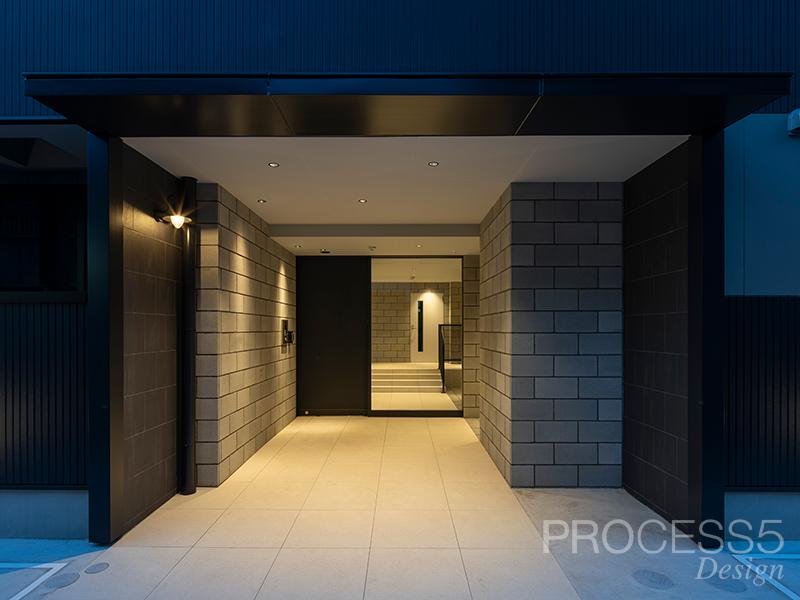 花園の集合住宅,マンション,大阪府,設計デザイン,PROCESS5 DESIGN