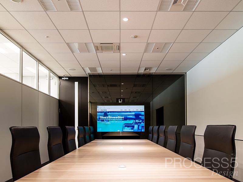 イムラ封筒会議室,オフィス,大阪府,設計デザイン,PROCESS5 DESIGN